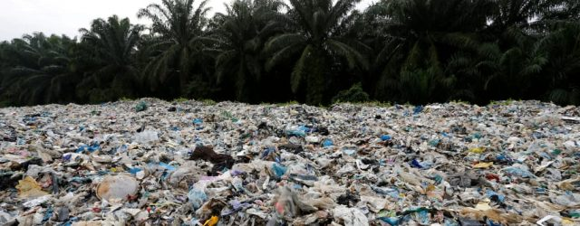EVERY YEAR ONE MILLION TONS OF PLASTIC WASTE IS SHIPPED TO POOR COUNTRIES