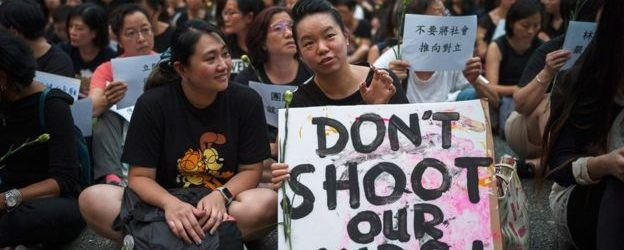In Real Time China Is Making A New Reality About The Hong Kong Protests